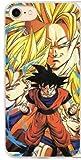 FRANCE DIFFUSION Coque Plastique Dur iPhone 7 & iPhone 8 Manga Dragon Ball Z Super GT Gohan Vegeta Sangoku DBZ Super Saiyan Evolution