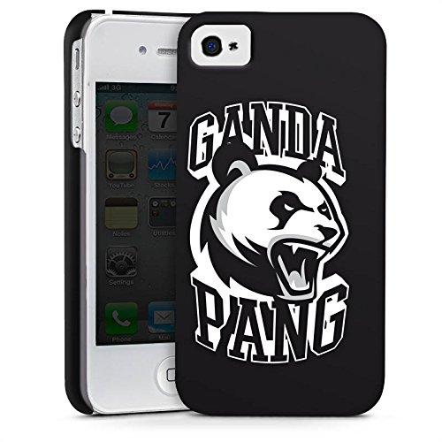 Apple iPhone X Silikon Hülle Case Schutzhülle Cro Merchandise Fanartikel Ganda Pang Premium Case glänzend