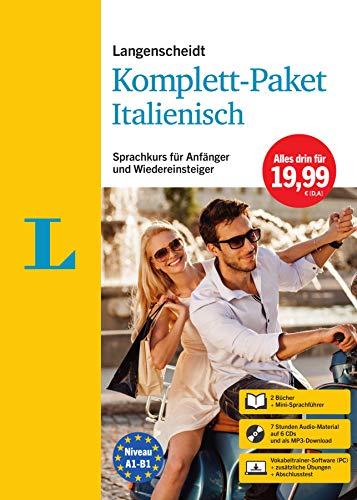 Langenscheidt Komplett-Paket Italienisch: Sprachkurs für Einsteiger und Fortgeschrittene