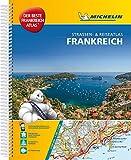 Michelin Straßenatlas Frankreich mit Spiralbindung: DIN A4, Auflage 2017 (MICHELIN Atlanten) -
