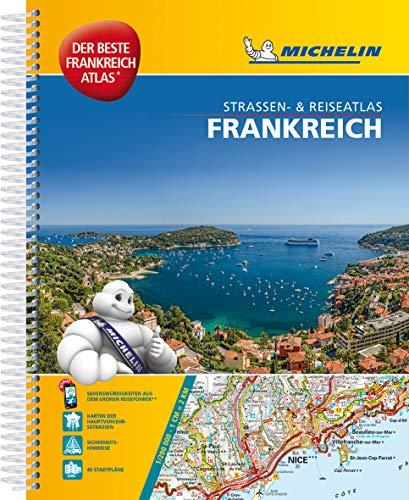 Michelin Straßenatlas Frankreich mit Spiralbindung: DIN A4, Auflage 2017 (MICHELIN Atlanten)