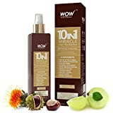 #4: WOW 10 in 1 Miracle Hair Revitalizer - 200ml - No Mineral Oils & Parabens - Premium Botanical Extract,Biotin & Vitamins - Mist Spray