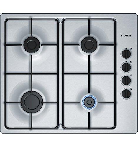 Siemens EB6B5PB80 Plaque de cuisson à gaz, Acier Inoxydable