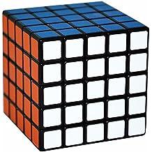 5x5x5 Puzzle Cubo, LSMY Toy Negro Scrub sticker