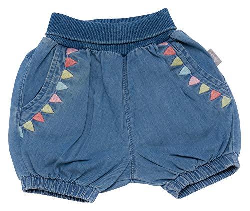 Sigikid Mädchen Jeans Bermuda, Baby Shorts, Blau (Denim Light Blue 590), (Herstellergröße: 92)