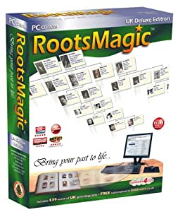 RootsMagic 4 UK Deluxe Edition (PC CD)