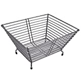 Klaxon Stainless Steel Kitchen Fruit Basket (Silver)