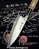 sxlh-015honkiyo Tsuna Coltello Deba 165mm-yasuki Blu Acciaio (aogami) asiatica di coltelli con scatola regalo