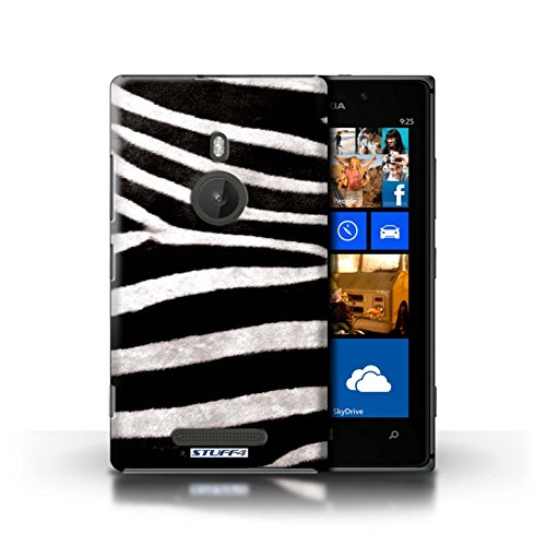 Kobalt® Imprimé Etui / Coque pour Nokia Lumia 925 / Zèbre conception / Série Motif Fourrure Animale Zèbre