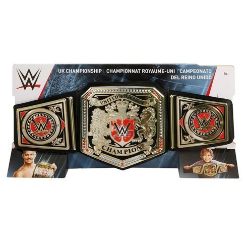 Mattel – FRL61 – WWE – UK Championship Belt – Meisterschaftsgürtel