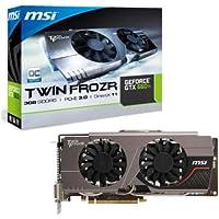 Msi V282-038R NVIDIA GeForce GTX 660 Ti Grafikkarte (PCI-e, 3GB, GDDR5 Speicher, Display-Port, HDMI, DVI-D/I, 1 GPU)