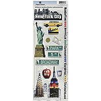 Casa cartoncini adesivi di carta-New York City