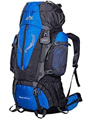 Smart Sac à dos de randonnée Sac 85L Grande Aventure de voyage Trekking