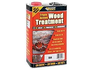 Everbuild Ljun055litre Lumberjack Triple Action Traitement du bois