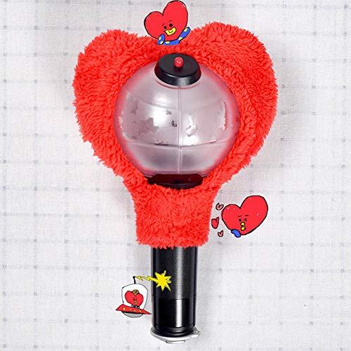 Skisneostype BTS Lightstick Cover, Kpop Bangtan Jungen Kawaii Limited Konzertlampe Army Bomb Light Stick Hülle für The Army(TATA)