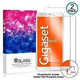 Ycloud [2 Pack] Panzerglas Bildschirmschutzfolie für Gigaset GS100,Hartglas Staubdichter, 9H kratzfester Bildschirmschutz Protector für Gigaset GS100