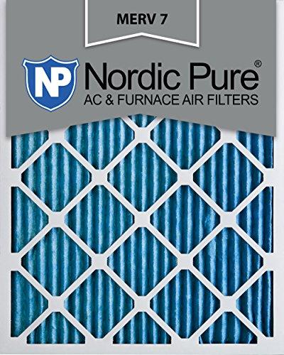 Ofen-filter 14x24x2 (Nordic Pure Merv 7Bundfaltenhose AC Ofen Filter, Box von 6, 2,5cm 14x24x1M7-2)