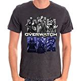 Tshirt homme Overwatch - Bring Your Friends (Noir Homme) (Medium)