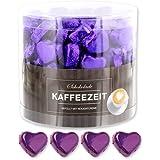 150 lila Schokoladen Herzen Jakarta