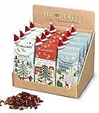 Weihnachtstee mit Mini-Mütze, Früchtetee Wintertraum, 75 gr, 1 Paket a.d. Sortiment