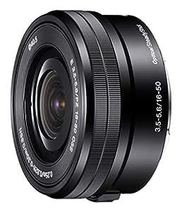 Sony SEL-P1650.AE 16 - 50 mm / F 3,5 - 5,6 OSS (SELP-1650) Objectifs 16 mm Noir