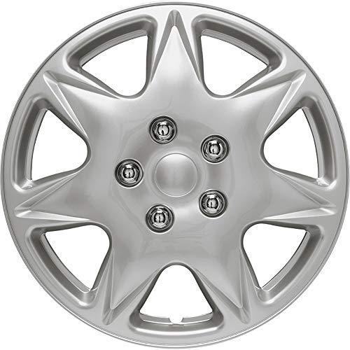 Auto-Style California 17' Silver Copricerchio Set, 4 pezz