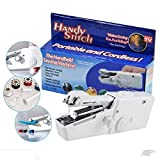 #3: Labdhi Creation Plastic Cordless Electric Mini Sewing Machine Handheld Handy Stitch-Machine Without Charger and Battery (sewing machine, White)