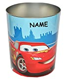 Disney Cars - Lightning McQueen - Papierkorb - incl. Name