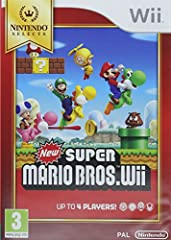 Idea Regalo - Nintendo Selects New Super Mario Bros.Wii, Gioco