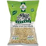 24 Mantra Organic Urad Dal White Whole, 500g