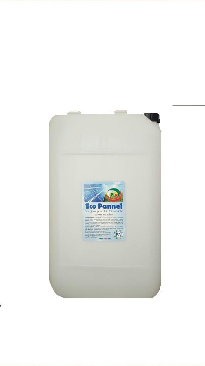 Pip Eco Pannel Detergente Concentrato per celle fotovoltaiche ed impianti solari TK KG.20