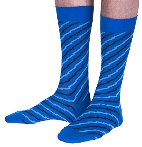 Richard James luxury socks -  Calze  - Uomo Petrol-blue, Black, Aero-blue M,L