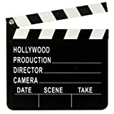 3 X Directors Clapperboard Hollywood Party Decoration Clapper Board Film Movies Prop
