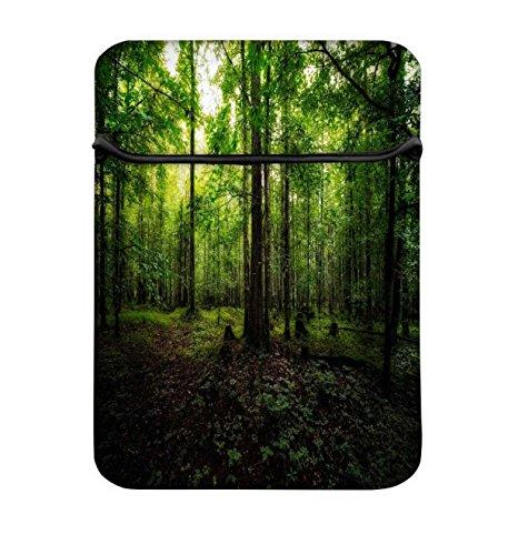 Grün Forest 17bis 17,6schützende Neopren mit Tragetasche aus Tasche für MacBook Acer Dell HP Lenovo Chromebook