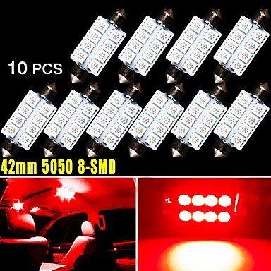 leuchtmittel-10-x-42-mm-5050-8smd-soffitte-pure-red-innen-dome-tur-led-licht-569-578-uns-lichtquelle