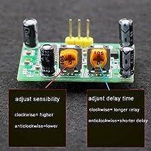 SWEETSTAN HC-SR501 Modul Mensch-Infrarot-Sensor-Modul Pyroelektrische Infrarot-Sensor-Einlasssonde