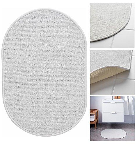 IKEA NACKTEN modernes Standard Qualität rutschfeste Badezimmer Latexunterseite Badteppich für regelmäßige Anwendung