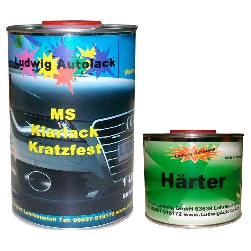 Klarlack - Juego de barniz MS (contenido medio en sólidos) para pintu
