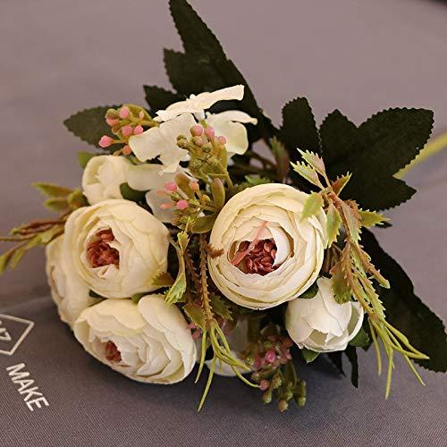 Blumen, Diamanttee, Tee, Rose, Fabrik, Großhandel, dekorative Blume, Blume, Foto, Fotografie, Requisiten, gefälschte Blumen, weißer Frühlingstee ()