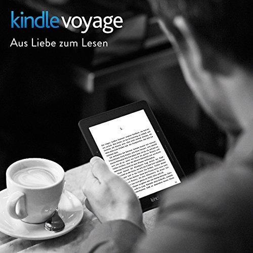 Kindle Voyage eReader, 15,2 cm (6 Zoll) hochauflösendes Display (300 ppi) mit integriertem intelligenten Frontlicht, PagePress-Sensoren, WLAN - 2
