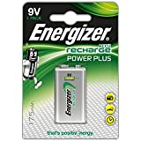 Energizer Power Plus 9 V Rechargeable Battery - Pack of 1