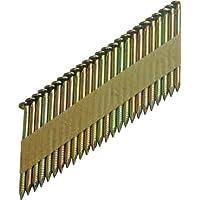 Silverline 371758 Clous annelés galvanisés 90 mm
