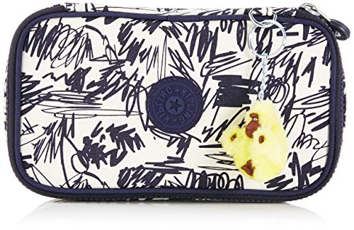 Kipling 50 Pens Estuches, 21 cm, 1 Liters, (Scribble Fun Bl)