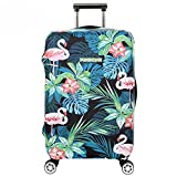 Youth Union Kofferhülle Elastisch Koffer Schutzhülle Flamingo Muster 18-32 Zoll Luggage Cover Protector Kofferschutzhülle mit Reißverschluss (Flamingo 6, XL)