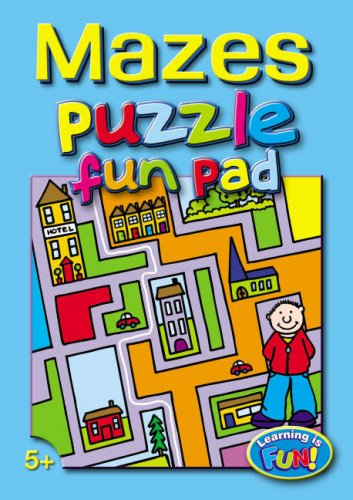 Mazes Puzzle Fun Pad
