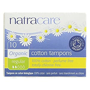 Natracare - ORG REGULAR TAMPONS 10 BX by NATRACARE