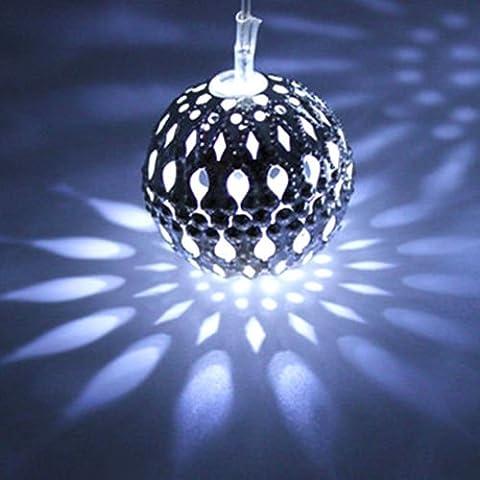 Moroccan Solar Partito String luci lampada da giardino 10palline natale