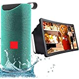 Drumstone [ *Buy BT Speaker & Get Mobile Screen Free] Party-Bass-Box Bluetooth 5in1 Multimedia Speaker with 3D Mobile's…
