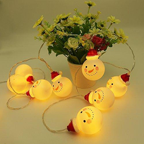 Schneemann LED-Leuchten blinken Kugel Licht Mädchen herzen Zimmer romantisches Schlafzimmer Grundriss Ferienwohnung, 5 m Batterie Geld