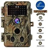 BlazeVideo Caméra de Chasse Wildlife Trail Cam avec Audio 20MP 1080P Vision...